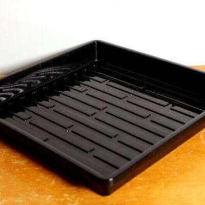 1010 heavy-duty watering tray with no holes
