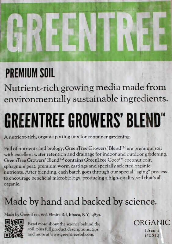 greentree growers blend soil