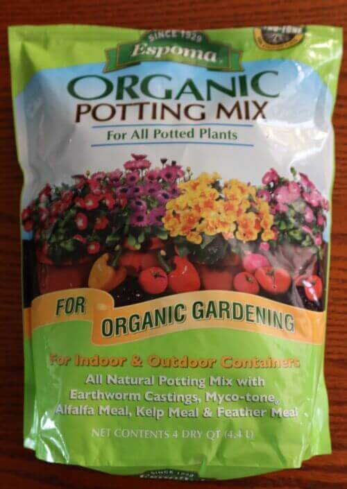 Espoma potting mix