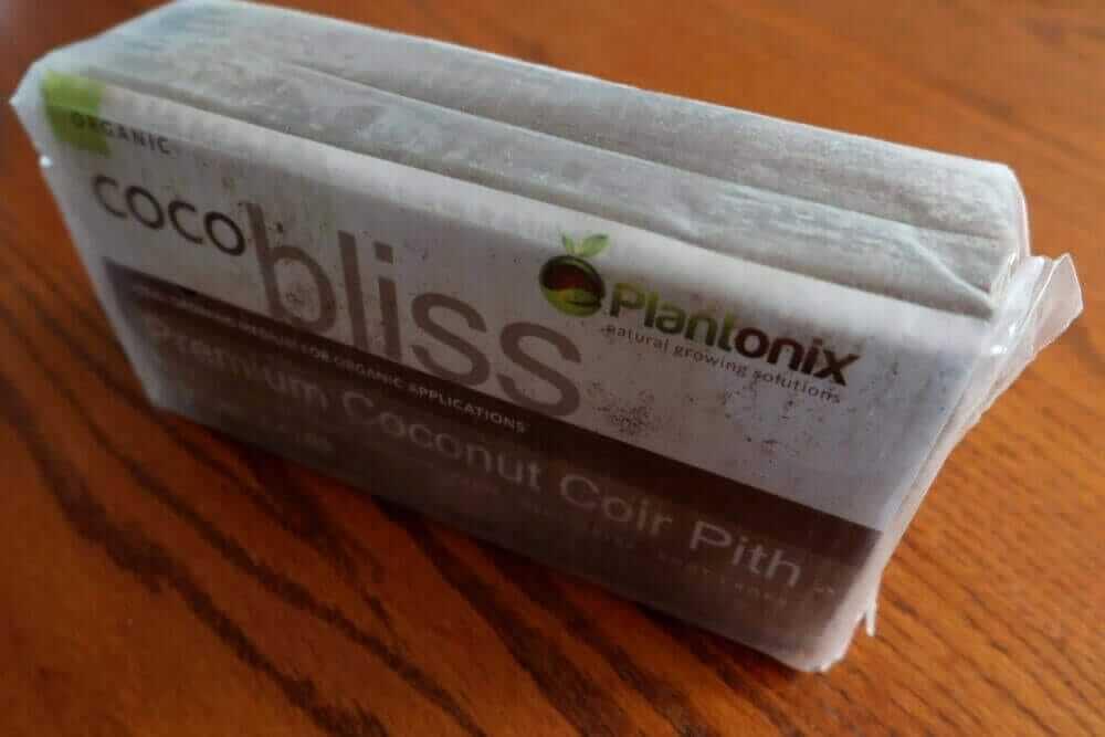 what is coco coir brick